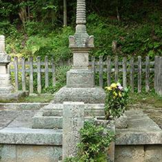 米山寺・小早川隆景墓