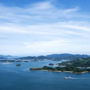 絶景多島美と城下町散策コース