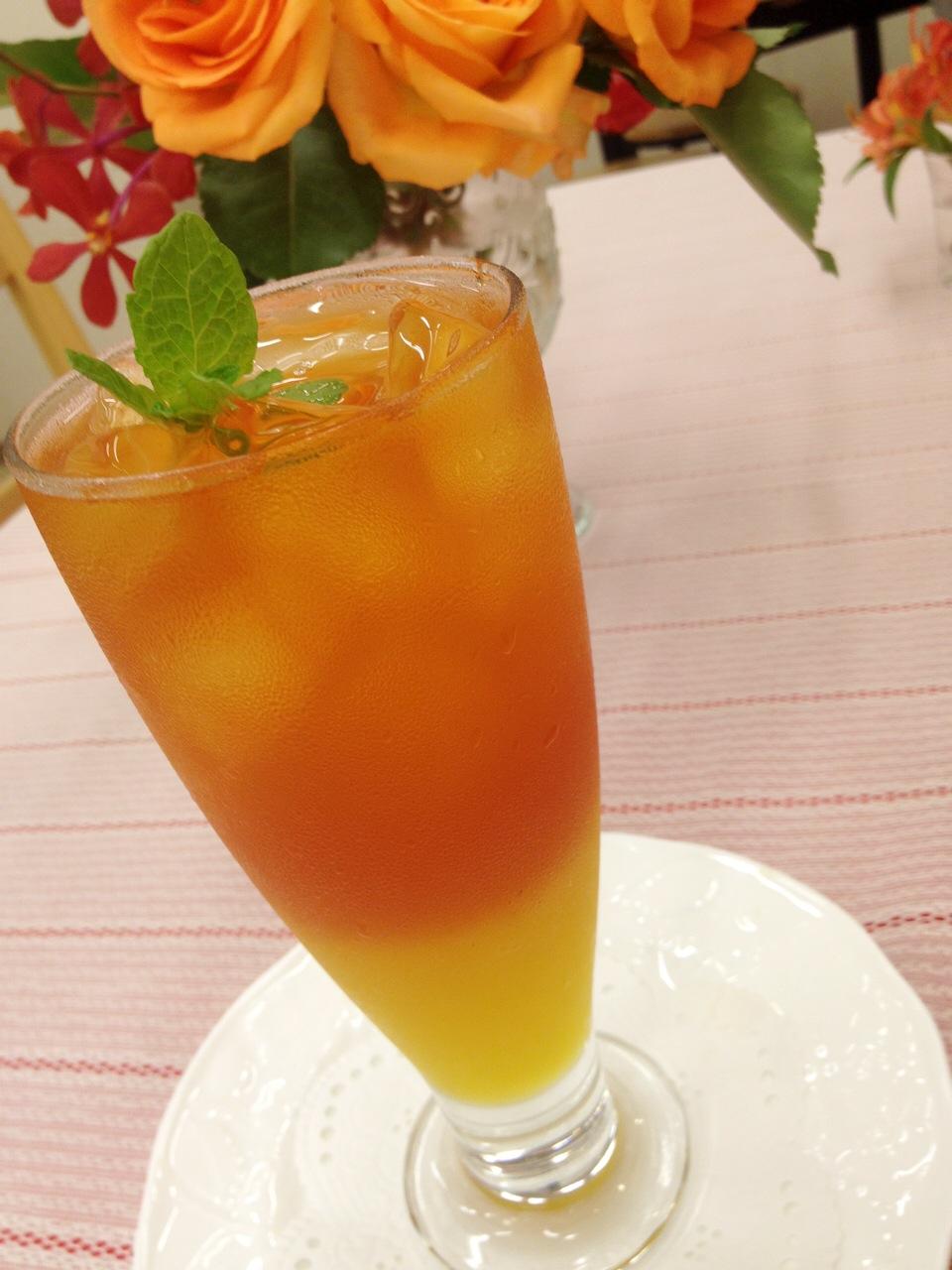 """夏に大人気の""""アイスマンゴーティー"""""""