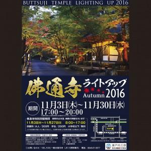 佛通寺ライトアップ2016