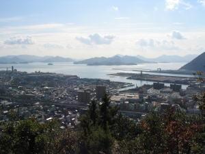 桜山からの眺望