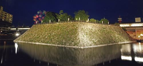 大賞 全日本写真連盟賞 題名:浮城に咲く大輪
