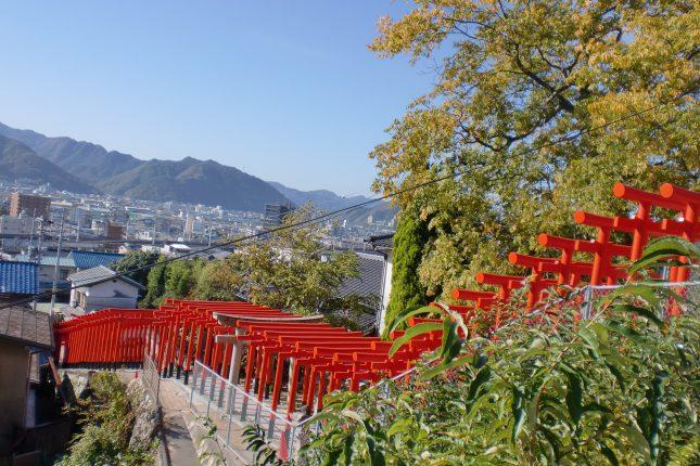 大島神社 連立鳥居