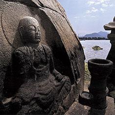 佐木島・磨崖和霊石地蔵