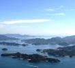 瀬戸内海随一の多島美を眺める 筆影山・竜王山