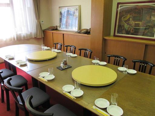 テーブル ~20名様まで