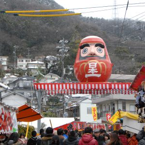神明市と三原の「日本一」に出会うてくてくコース