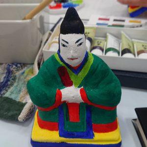 三原人形制作と絵付け体験